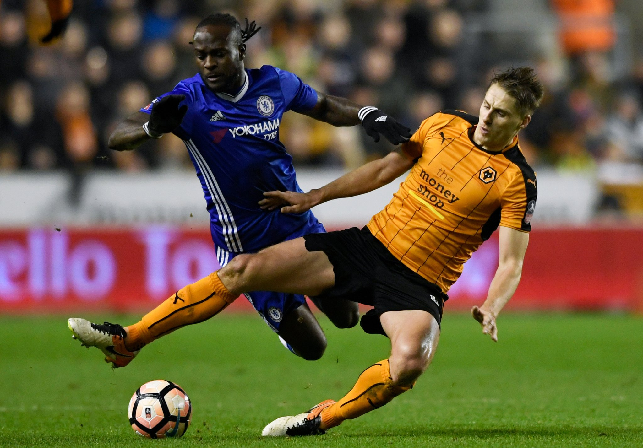 FA Cup: Moses, Ikeme Solid As Chelsea Overcome Stubborn Wolves