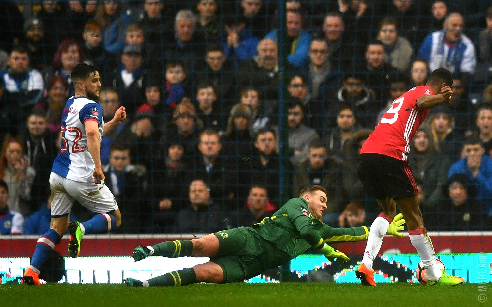 FA Cup: Rashford, Zlatan Fire United Overcome Resilient Blackburn