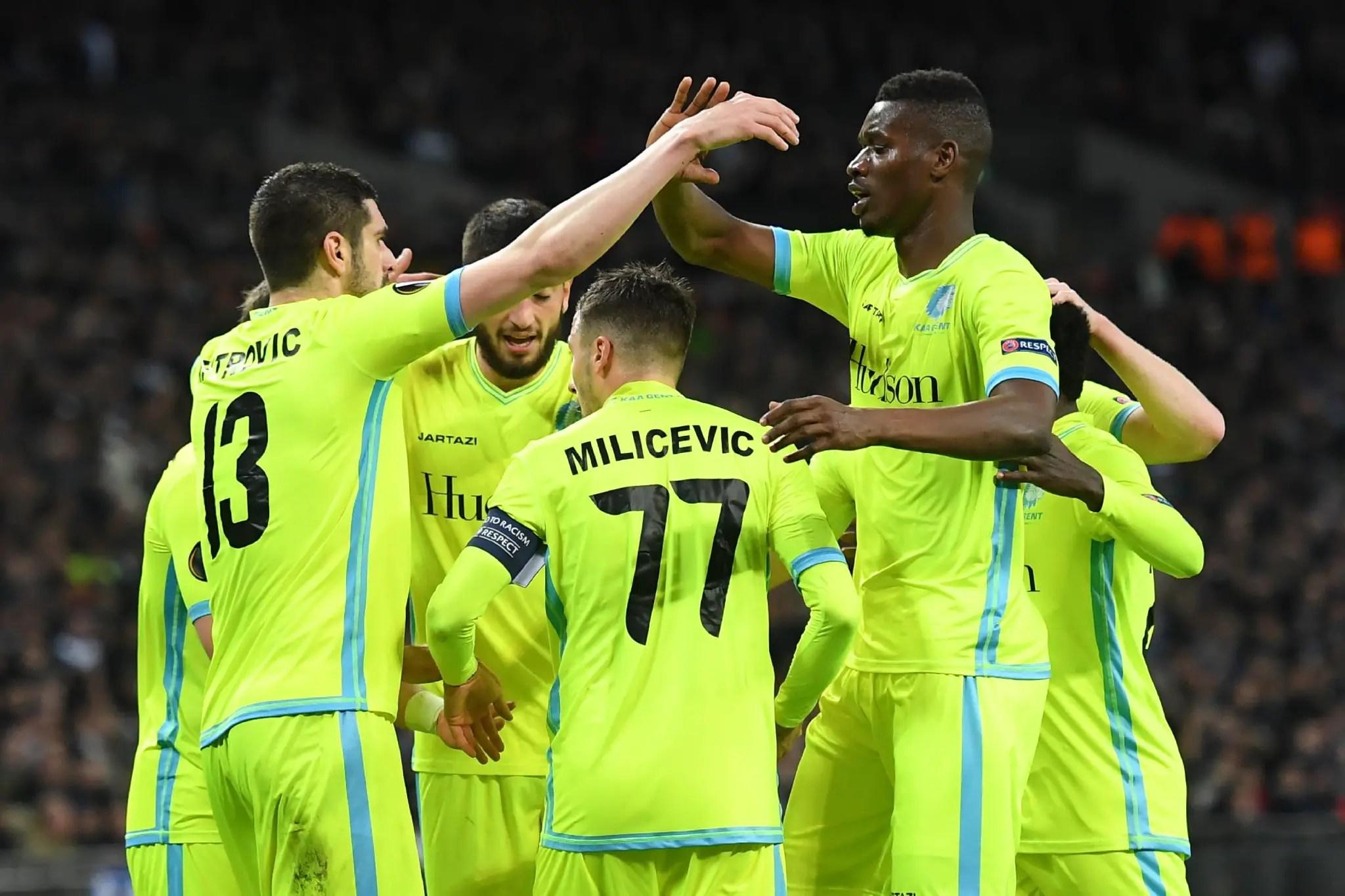 Europa: Simon, Esiti Help Gent Dump Spurs; Lyon, Gladbach, Genk Progress