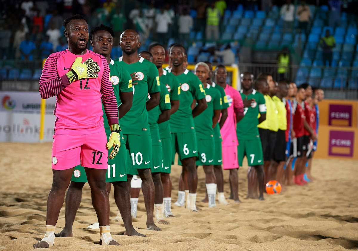 Supersand Eagles To Know Beach Soccer World Cup Foes Tuesday