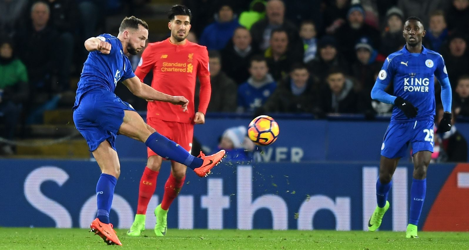 Ndidi Sparkles, Musa Dropped As Leicester Stun Liverpool
