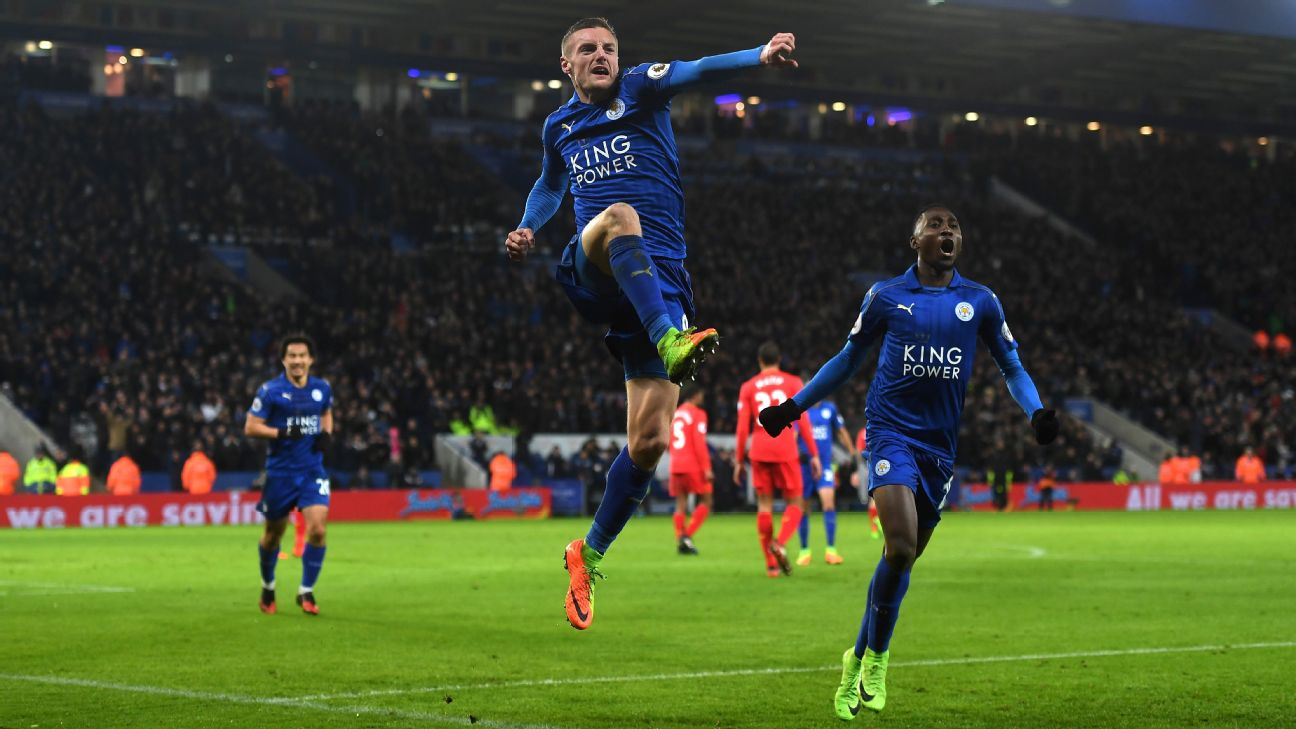 Ndidi, Vardy Nominated For Best Leicester Player Vs Liverpool
