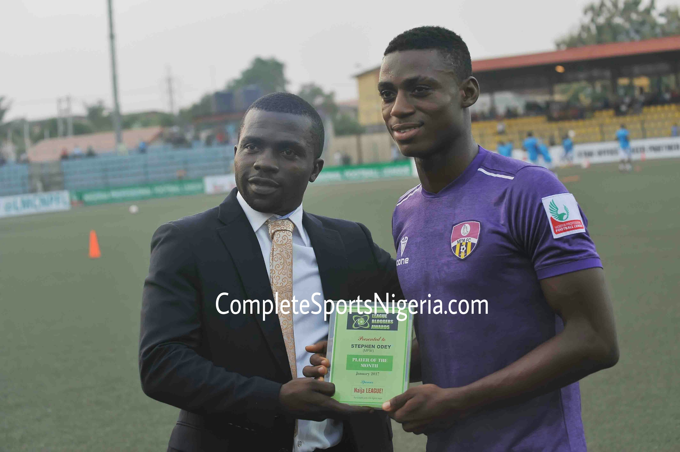 Odey: I want To Become NPFL's All-Time Top Scorer