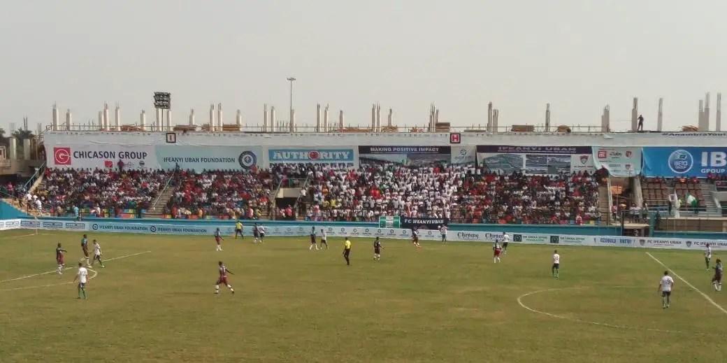 CAFCC: FC Ifeanyiubah Pip Al-Masry 1-0 In Nnewi
