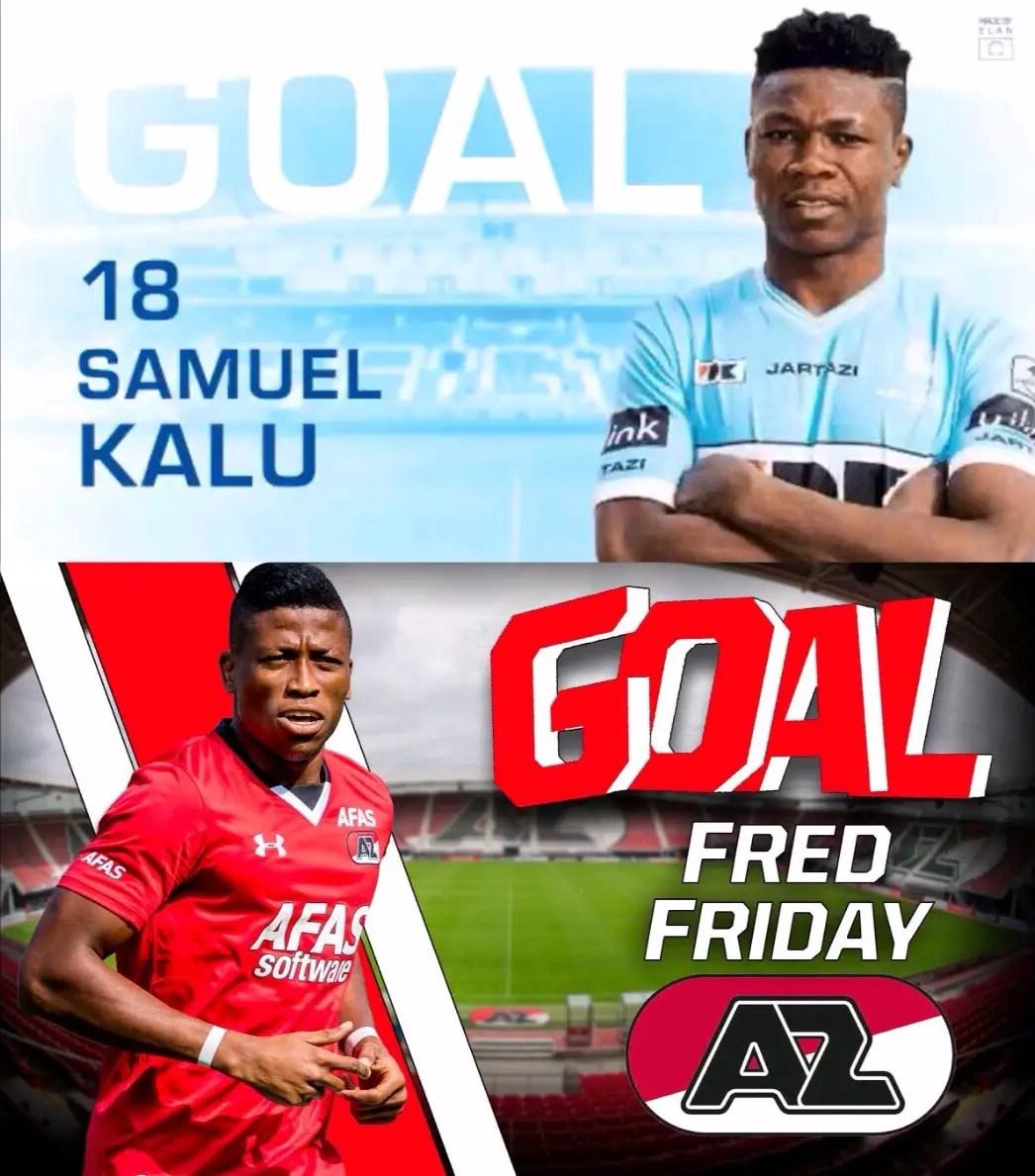Kalu Scores In Gent Win, Friday's Goal Rescues Alkmaar