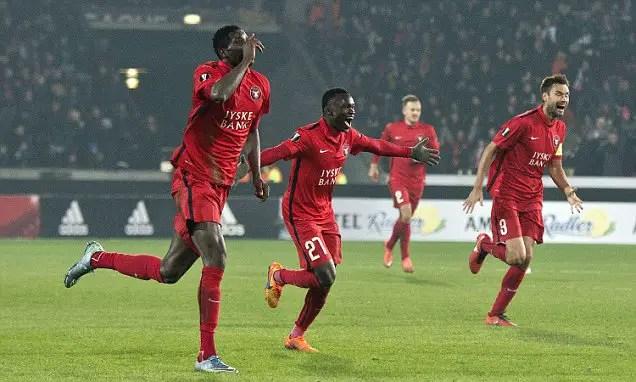 Onuachu Saves Midtjylland As Onazi Inspires Trabzonspor To Victory