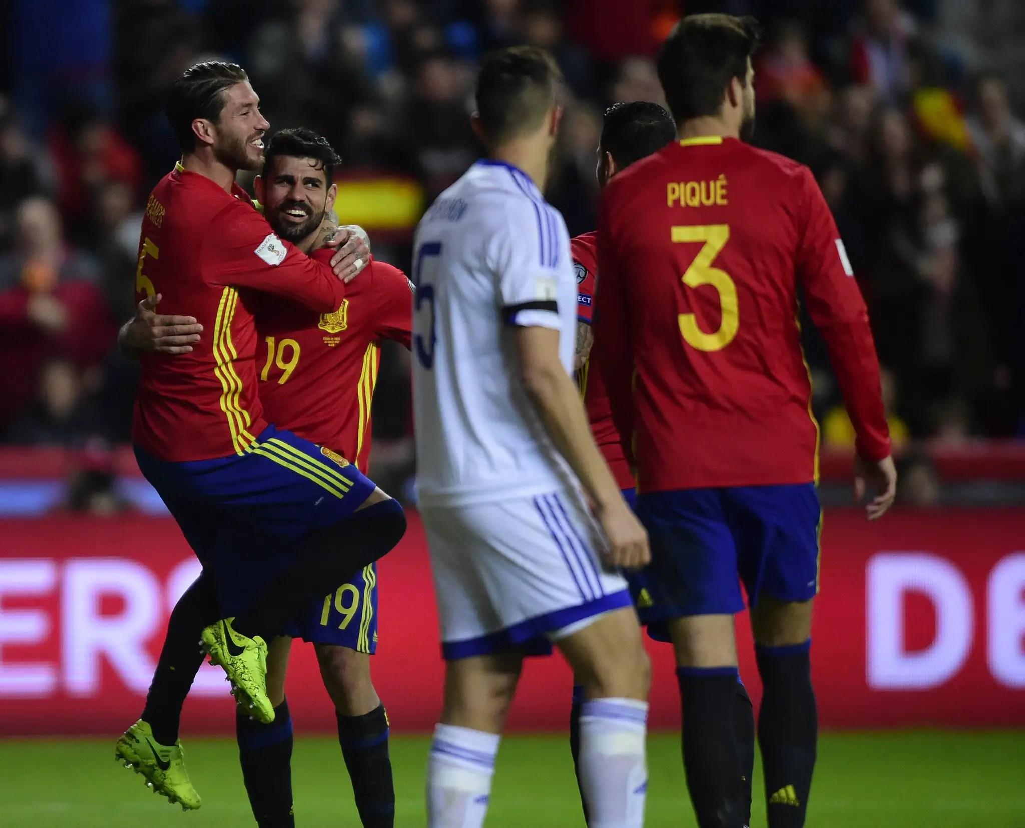 Russia 2018 WCQ: Spain, Italy, Turkey Win; Wales, Ireland Draw