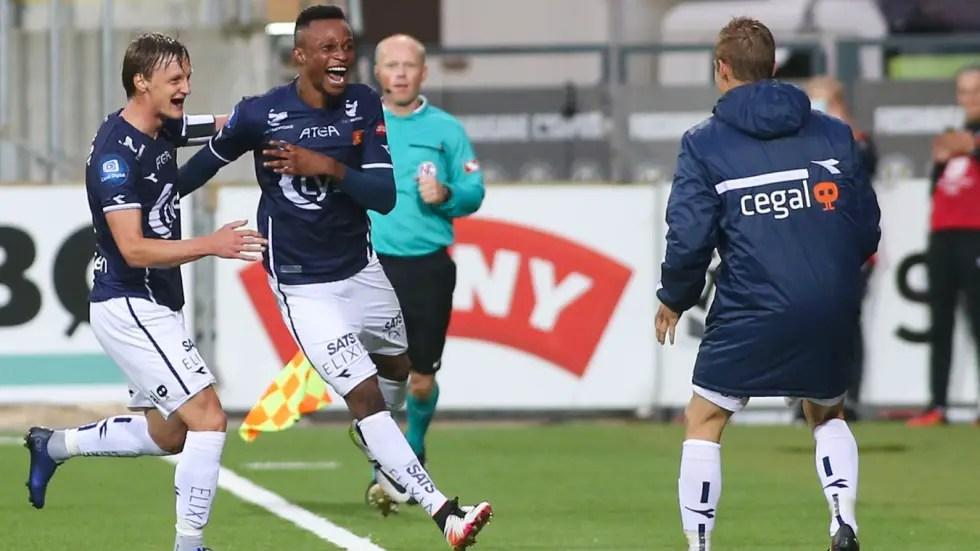 Nigerian Striker Adegbenro Bags Brace As Viking Win Friendly