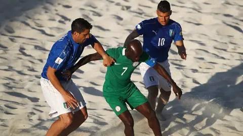Beach Soccer World Cup: Gori Scores Six As Italy Trounce Nigeria