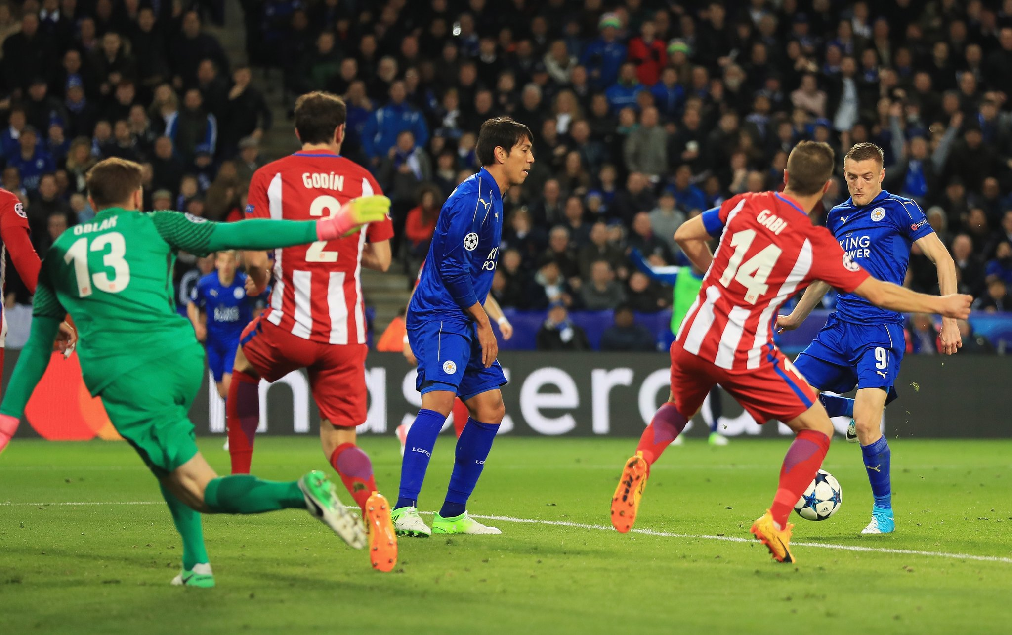 UCL: Ndidi Stars, Musa Benched As Leicester Bow Out To Atletico