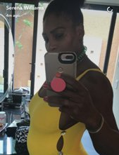 Serena Reveals She's Five Months Pregnant!