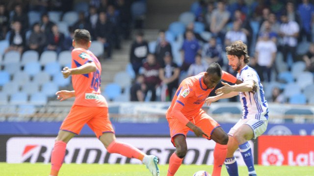 Agbo In Action As Granada Are Relegated From LaLiga