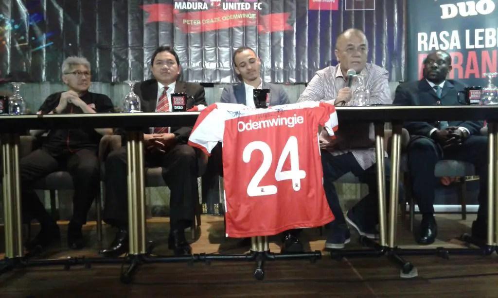 Odemwingie Joins Indonesian Club Madura United