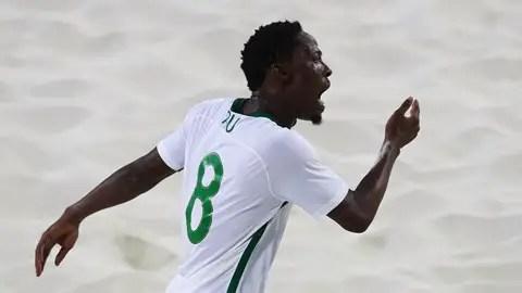 Nigeria's Abu Beaten To Beach Soccer World Cup Best Goal Award