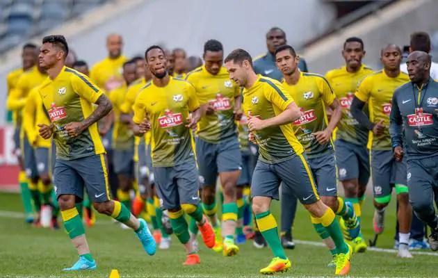 Baxter Names 25-Man Bafana Squad For Super Eagles Clash, Boasts