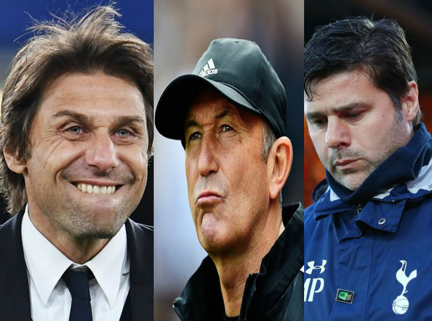 Conte, Pochettino, Pulis Nominated For EPL Best Manager Award