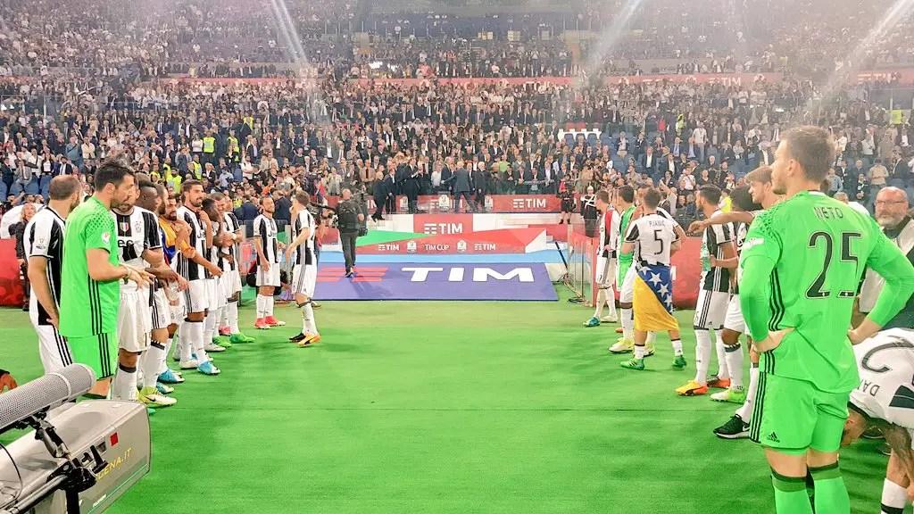 Juventus Beat Lazio, Win Third Straight Coppa Italia