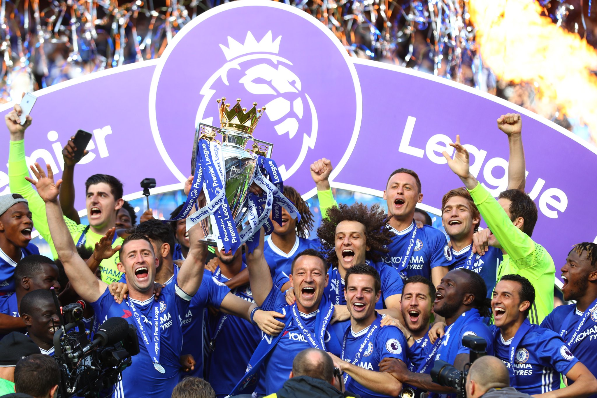 Champions Chelsea Set EPL Record; Liverpool, City Condemn Arsenal To Europa