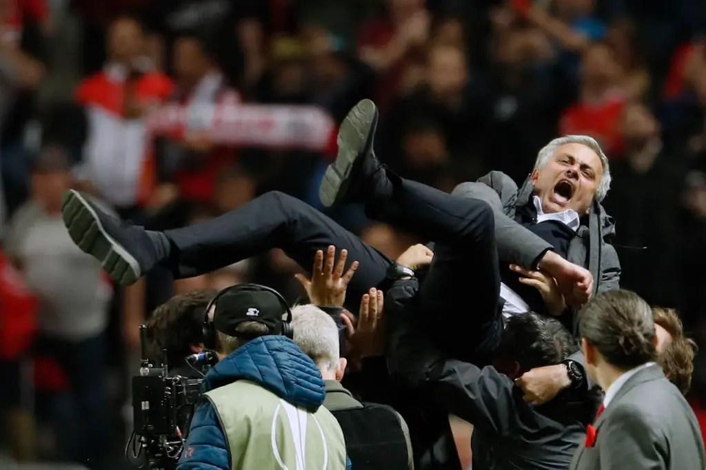 Mourinho Ecstatic After United's Europa Triumph Despite 'Difficult Season'