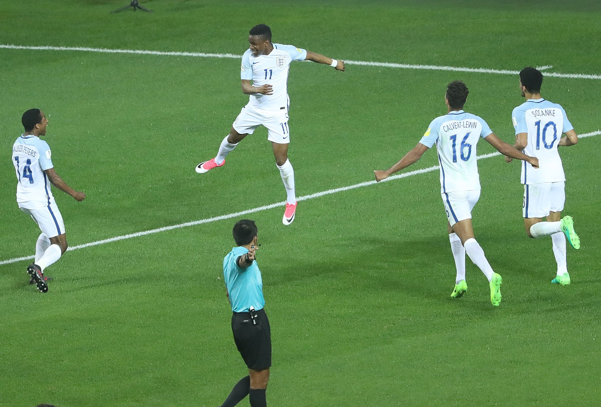 Lookman Scores Twice As Nigerian Youngsters Fire England Into U-20 World Cup Q/Finals