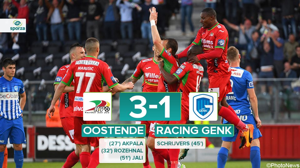 Akpala Scores As Oostende Bag Europa League Ticket
