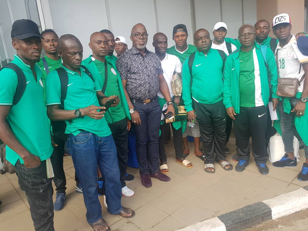 Super Sand Eagles Land In Lagos After Beach Soccer World Cup Ouster