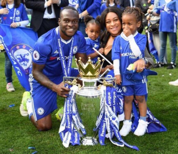 Victor Moses Gets Married To Mum Of His Kids