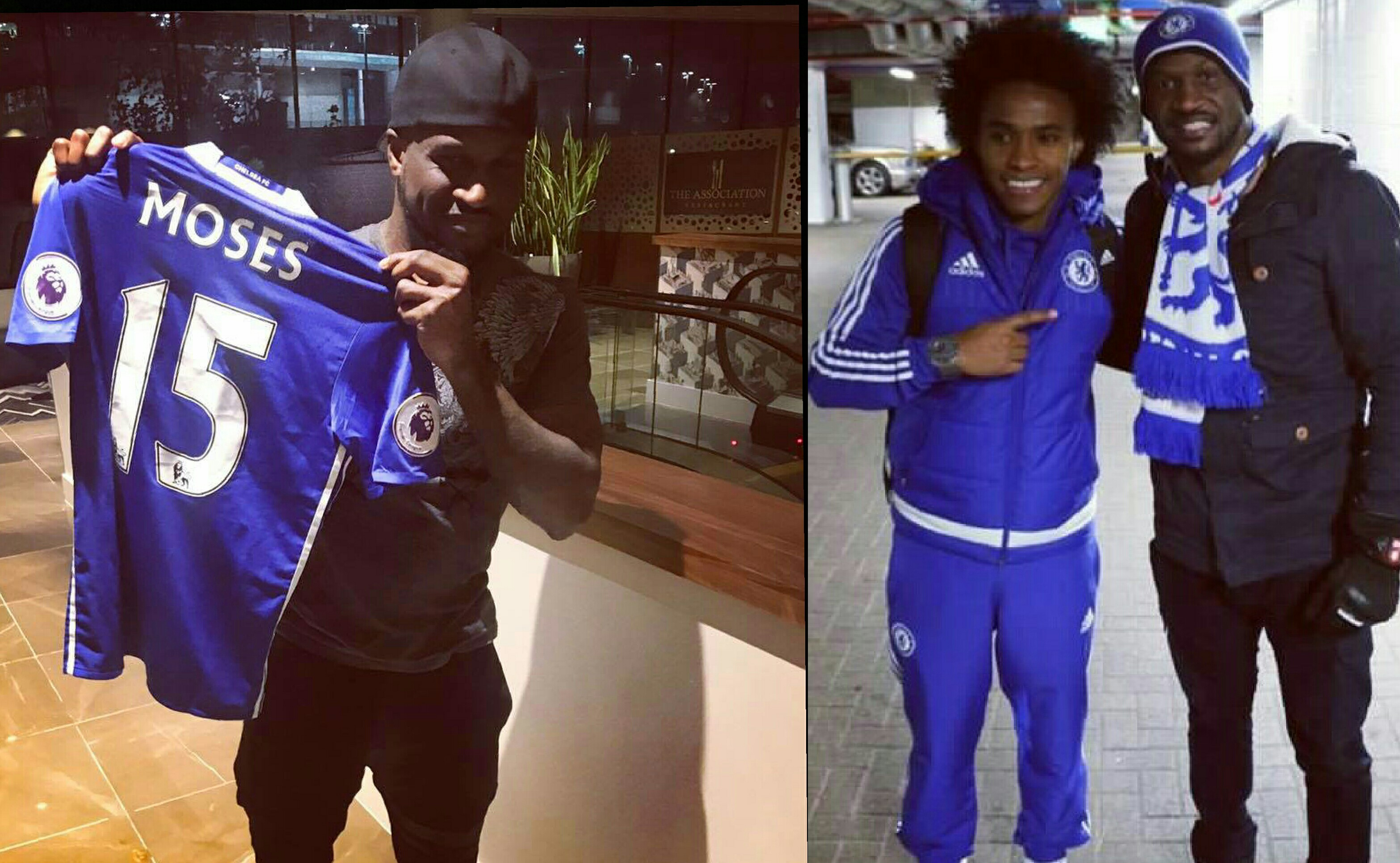 Peter Of P-Square Live At The Hawthorns: 'Chelsea Will Win EPL Tittle Tonight!'