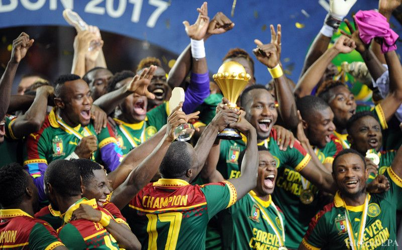 Nigeria Foes Cameroon Name Strong Squad For FIFA Confeds Cup