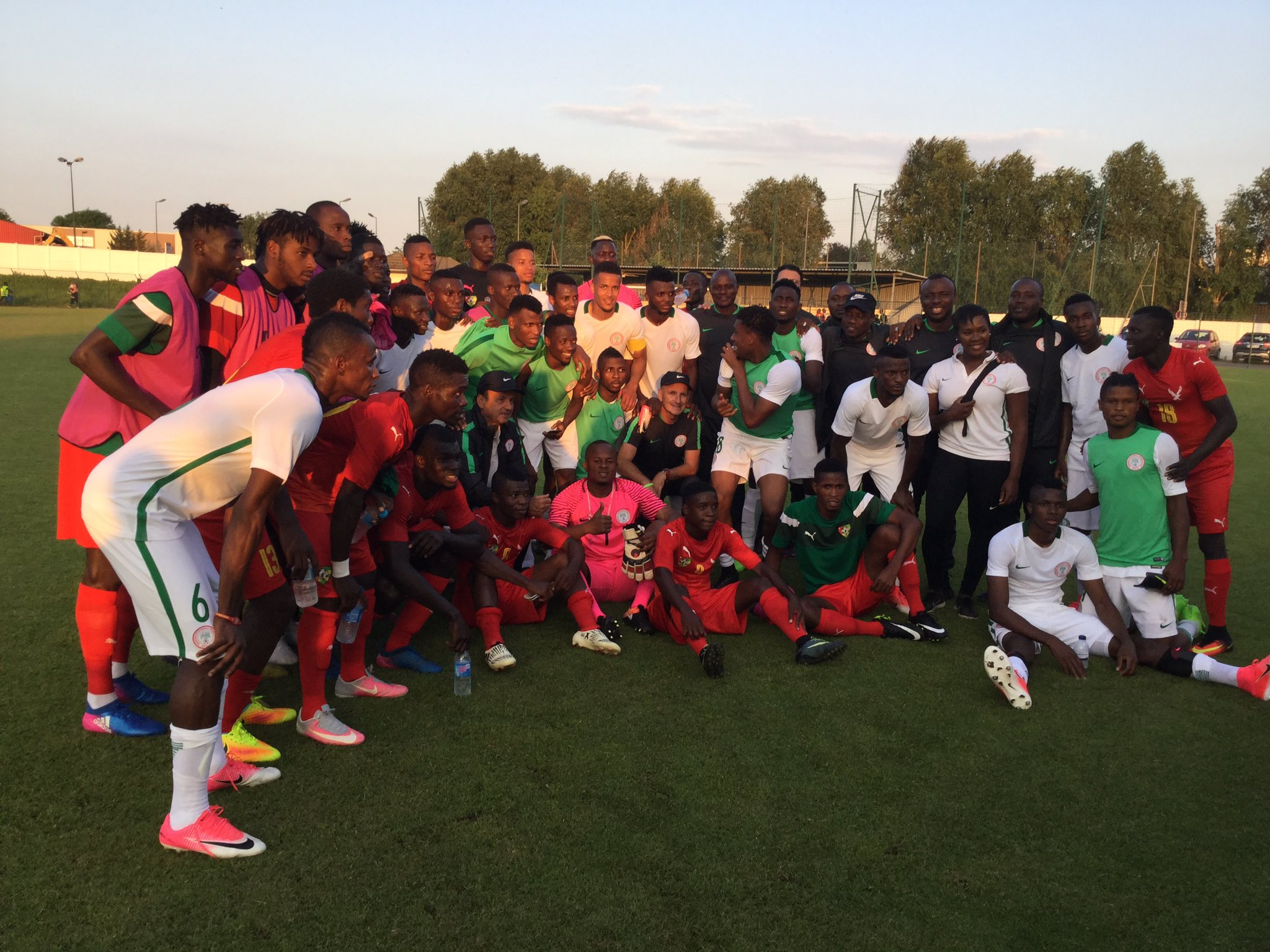 Sam Sodje HailsEagles' Win OverTogo, Wants Team Bolstered With'Physical' Defenders