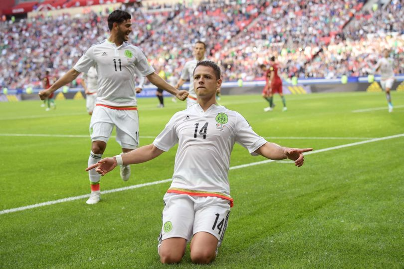Confed Cup: Chicharito Scores As Resilient Mexico Hold Portugal