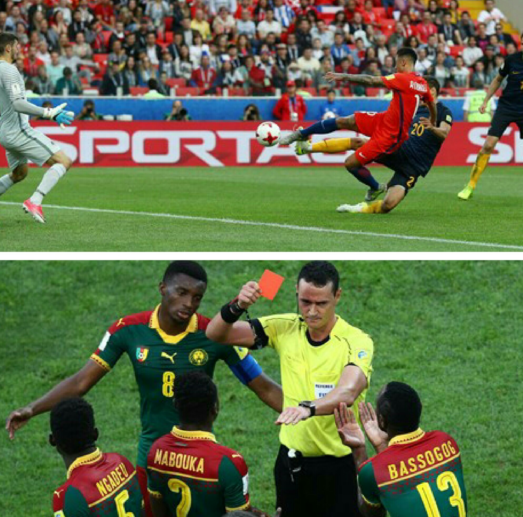 Confed. Cup: Cameroon Crash Out As Germany, Chile Progress To Semis