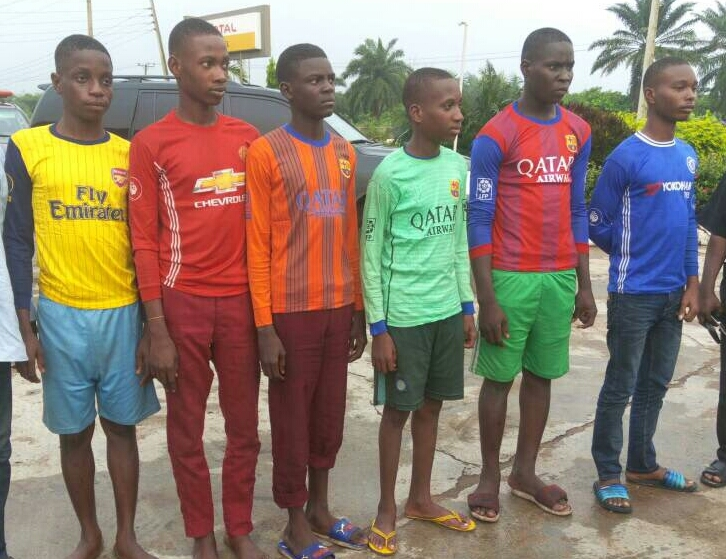 EXCLUSIVE: Why Kidnapped Igbonla Boys Wore Barca, United, Chelsea Jerseys