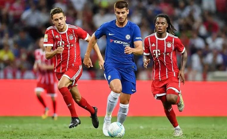 Conte Praises Morata, Chelsea Stars Despite Bayern Defeat