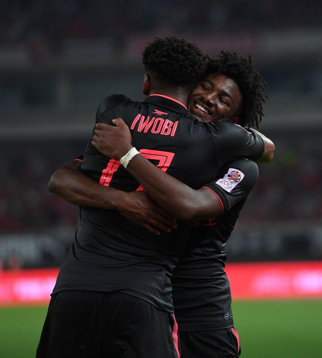 Arsenal Fans: Iwobi The Best Vs Bayern, Deserves More Playing Time