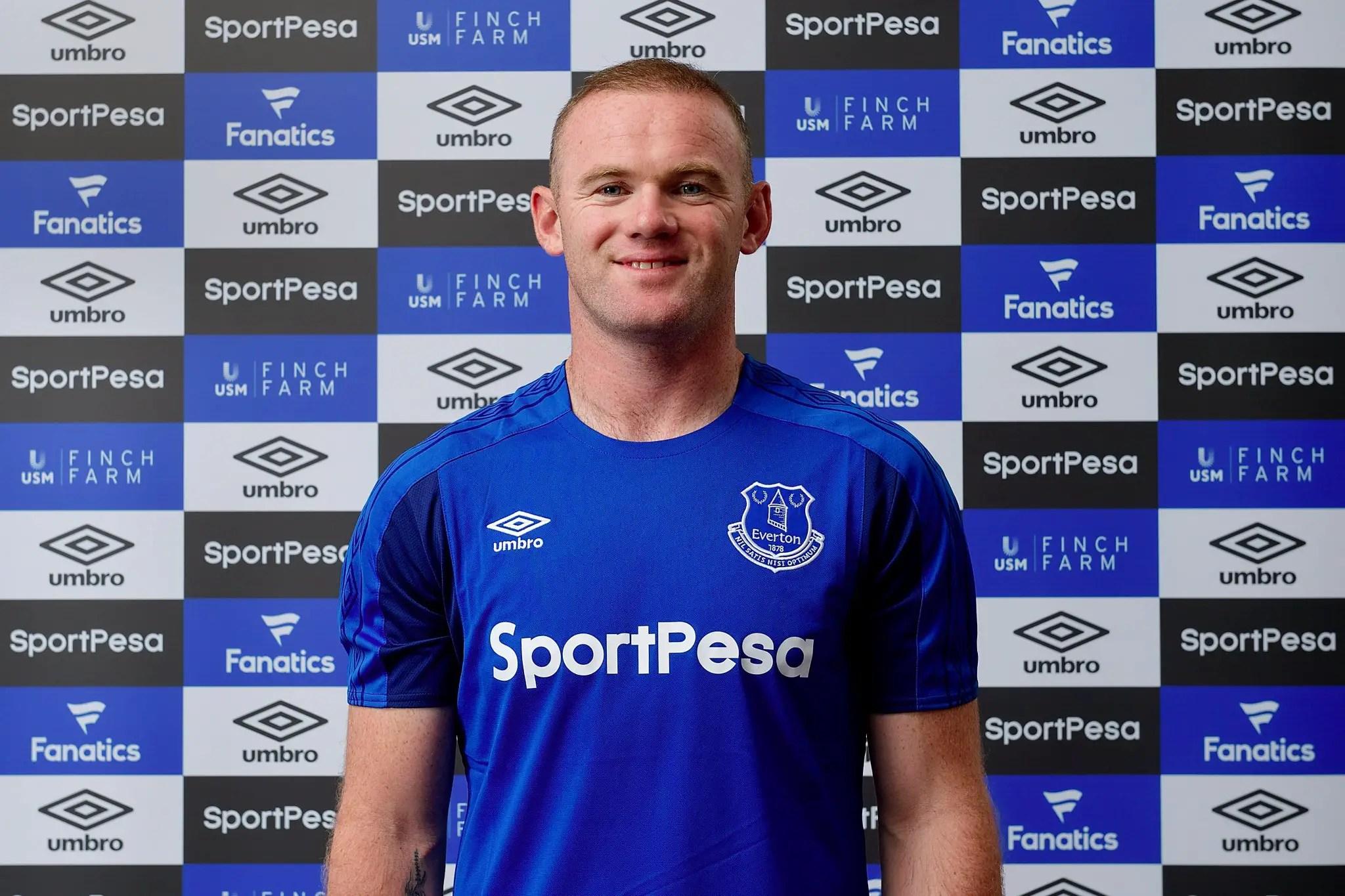 Man United Captain Rooney Rejoins Boyhood Club Everton