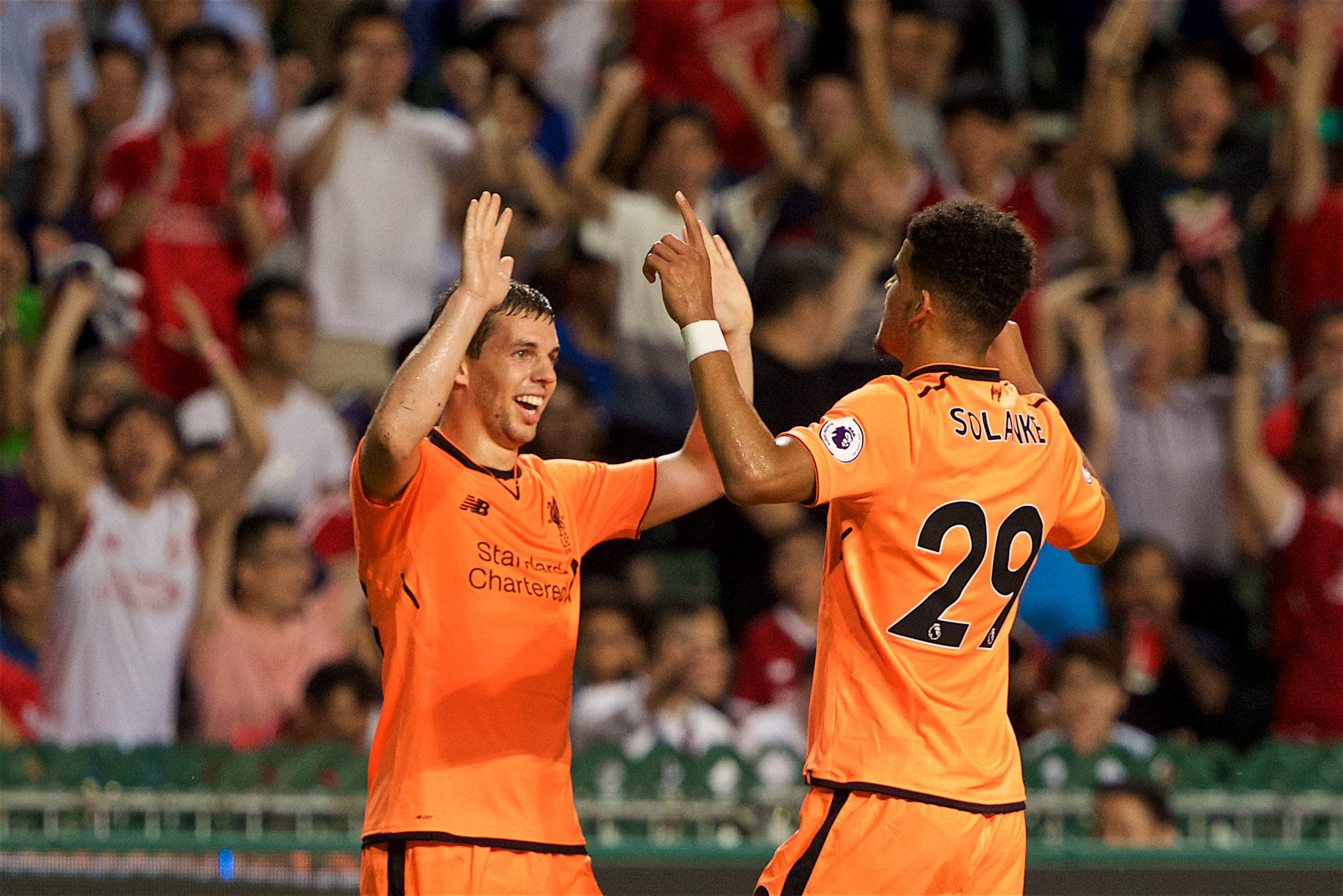 Solanke Fires Liverpool Past Palace Into PL Asia Trophy Final