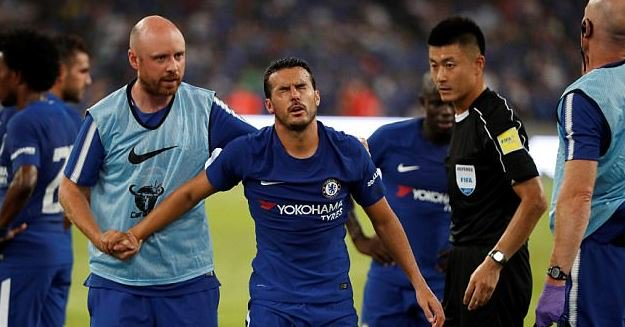 Chelsea's Pedro Sent Back To London After Concussion Vs Arsenal