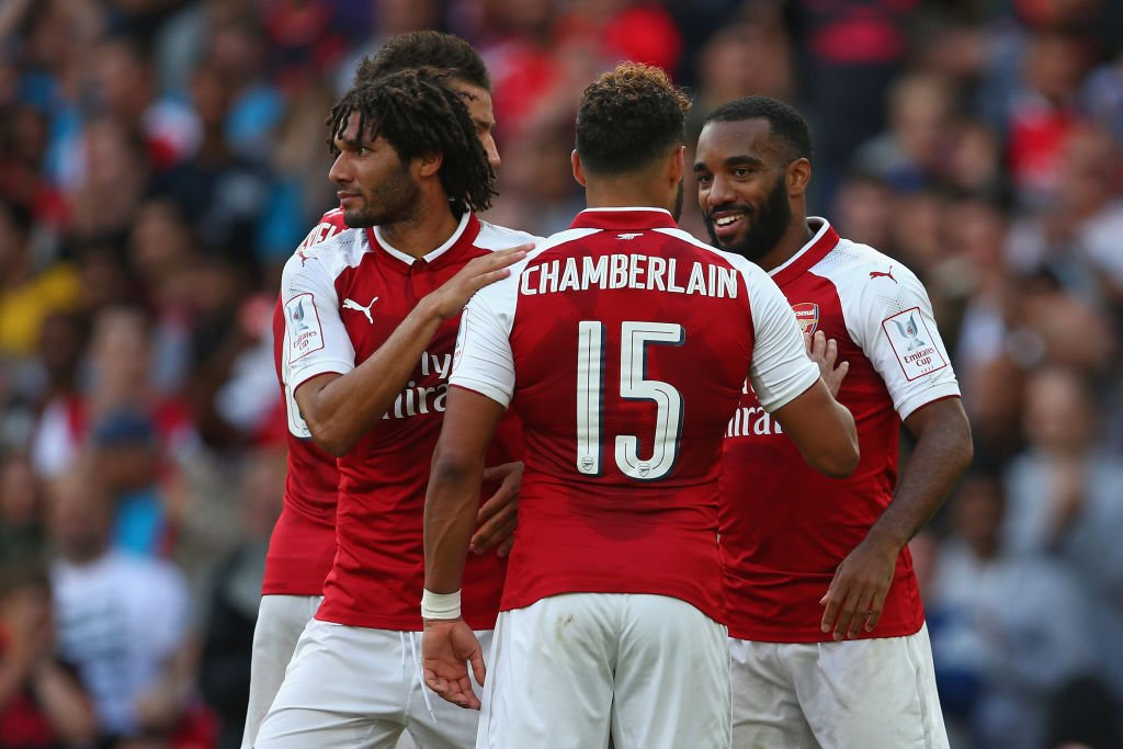 Iwobi On As Arsenal Lift Emirates Cup Despite Defeat To Sevilla