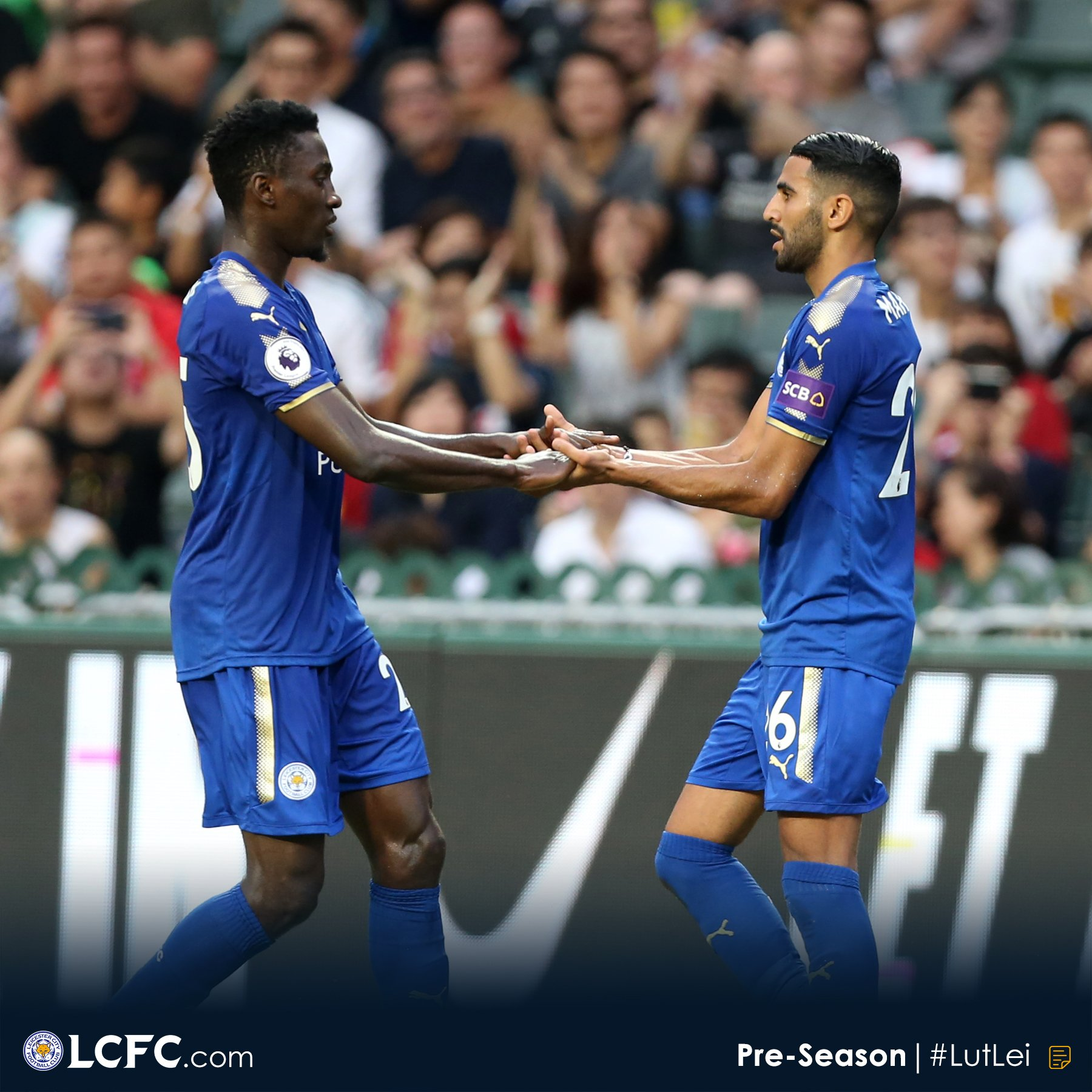 """Ndidi """"Sad"""" After Leicester's Friendly Defeat To Wolves"""
