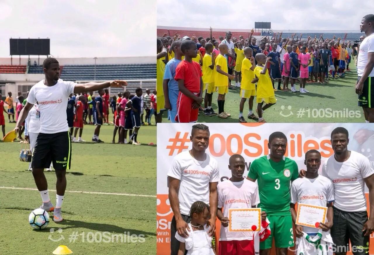 Echiejile Launches 100 Smiles Football Initiative For Edo Indigent Children