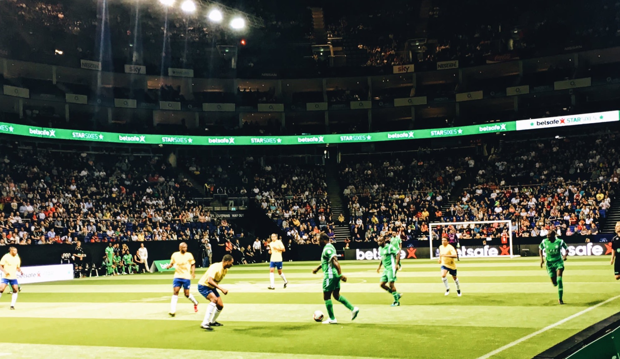 Star Sixes: Nigeria Record Second Defeat, Lose To Brazil