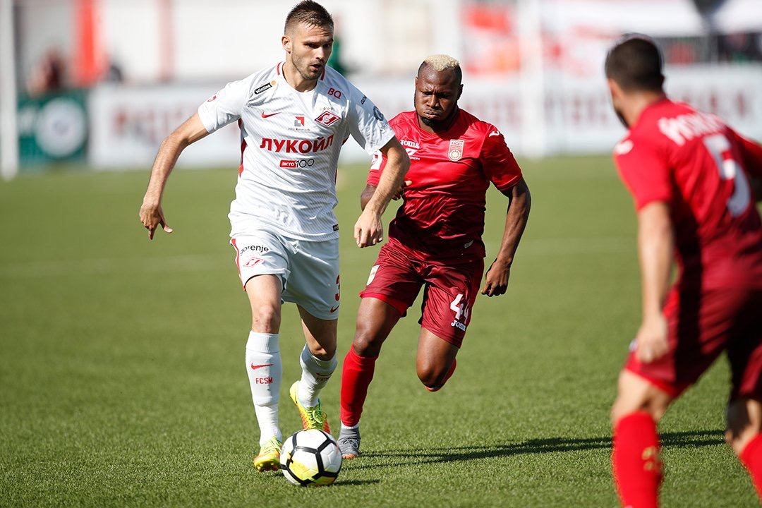 Russian League: Igboun, Fatai In Action In UFA's Home Draw Vs Spartak Moscow