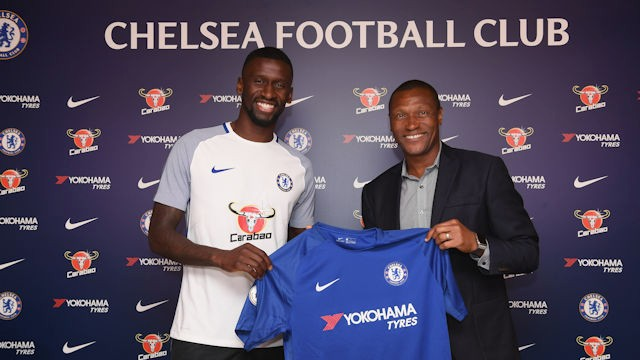 Chelsea Confirm Rudiger Signing From Roma