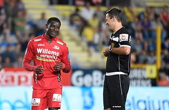 Akpala Scores Again, Olayinka Bags Brace As Oostende, Waregem Win