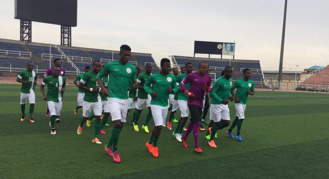 CHAN Super Eagles Resume Training After Weekend Break For NPFL Assignments
