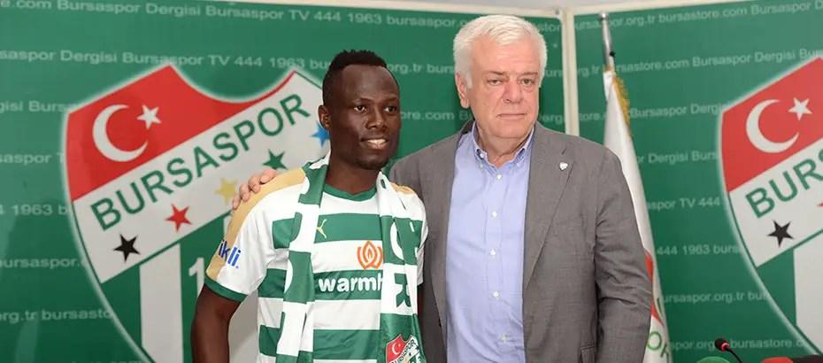 Ghana Star Badu: How Onazi Influenced My Bursaspor Move