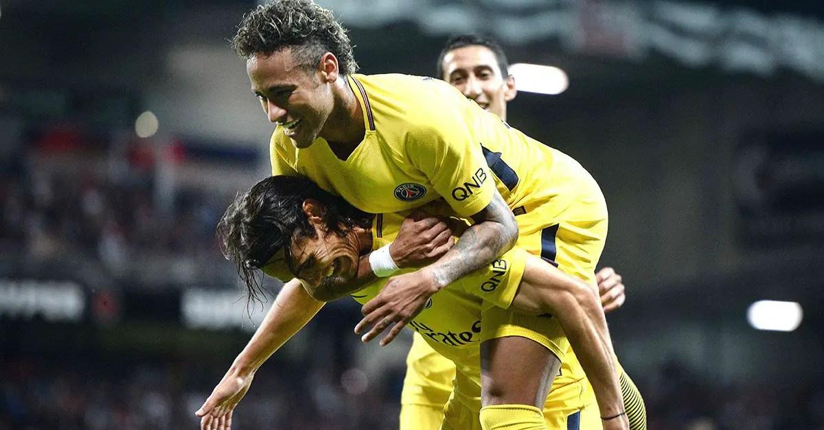 Neymar Opens PSG Goals Account In Guingamp Win
