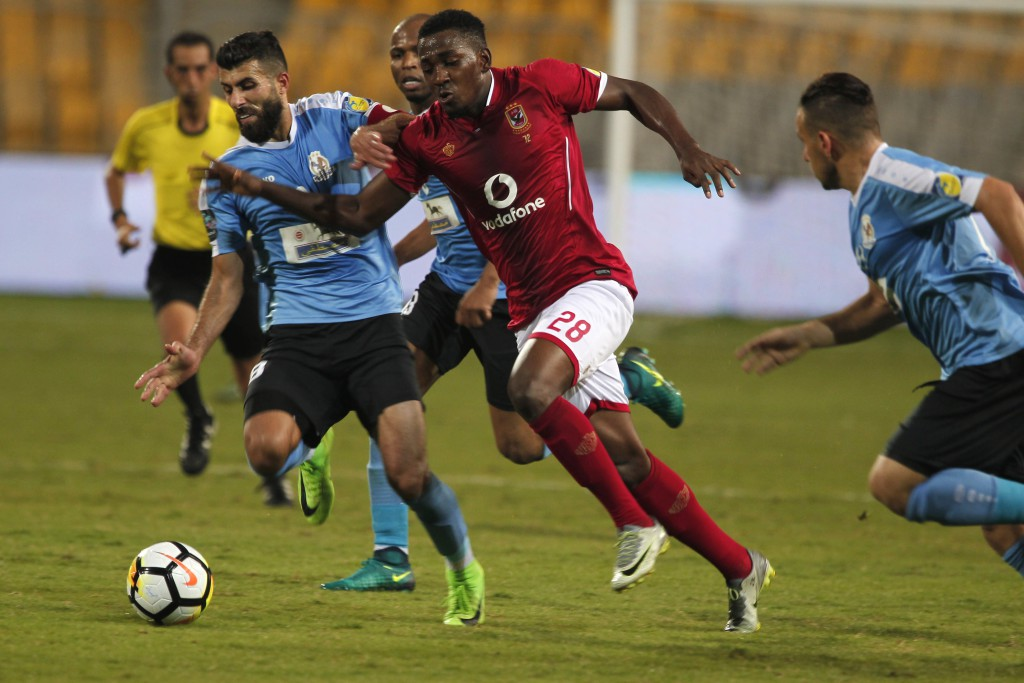 CAFCL: Ajayi Fired Up To Help Al Ahly Beat Esperance in Tunis