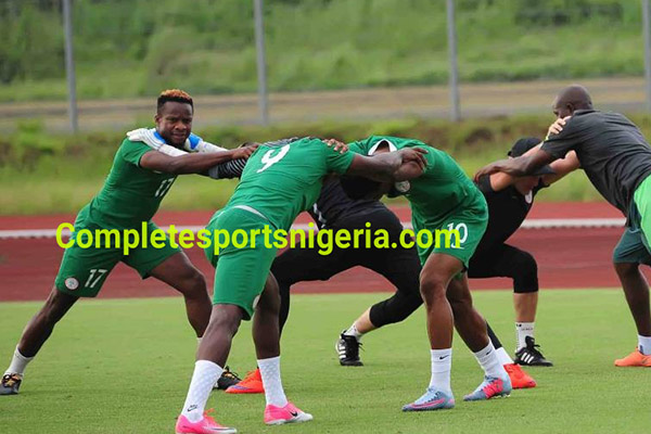 Onazi, Iwobi, Simon, Four Others Arrive  For Zambia Clash , Victor Moses On The Way